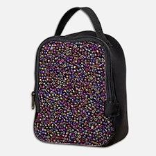Purple Rainbow Rocaille Seed Beads Neoprene Lunch