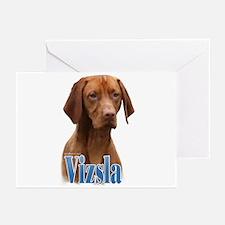 Vizsla Name Greeting Cards (Pk of 20)
