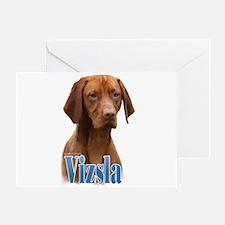 Vizsla Name Greeting Card
