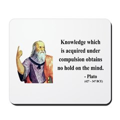 Plato 21 Mousepad