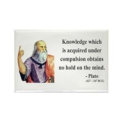 Plato 21 Rectangle Magnet (100 pack)