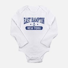 Cute Hampton Long Sleeve Infant Bodysuit