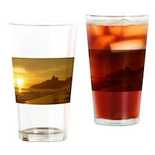 Ipanema beach Drinking Glass