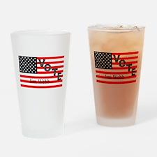 Vote Jim Webb for President Drinking Glass