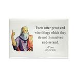 Plato 22 Rectangle Magnet (10 pack)