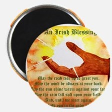 Cute Irish blessing may the road Magnet