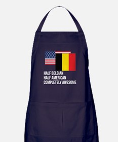 Half Belgian Completely Awesome Apron (dark)