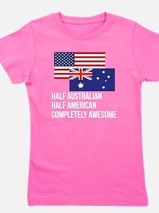 Half Australian Completely Awesome Girl's Tee