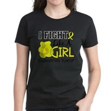 Unique Fight like a girl grunge Tee