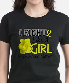 Funny Fight like a girl colon cancer Tee