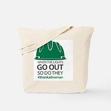 Linemen Tote Bag