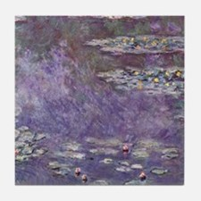 Water Lilies (Nympheas) 1908 Tile Coaster