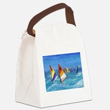 The Race Canvas Lunch Bag