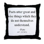 Plato 22 Throw Pillow