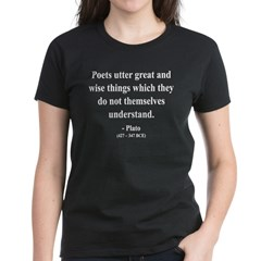 Plato 22 Women's Dark T-Shirt