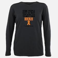 Leukemia Hero Plus Size Long Sleeve Tee