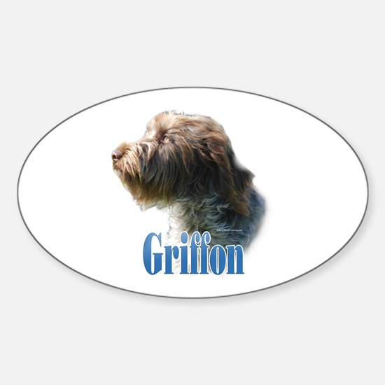 WireGriffName Oval Decal