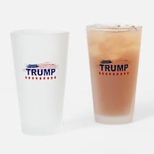 Trump Make America Great Again Drinking Glass
