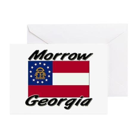 Morrow Georgia Greeting Cards (Pk of 10)