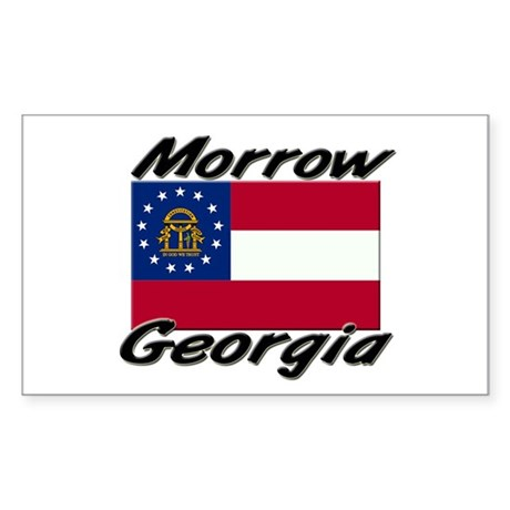 Morrow Georgia Rectangle Sticker