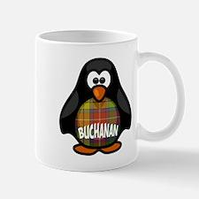 Buchanan Tartan Penguin Mug