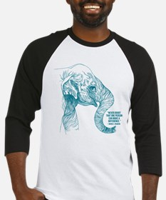 One Can Make A Difference Elephant Baseball Jersey
