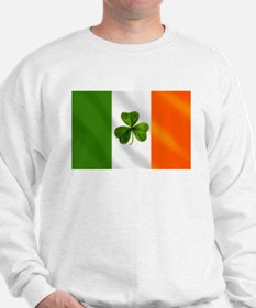 Irish Shamrock Flag Sweatshirt