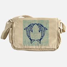 Cute Dolphin Messenger Bag