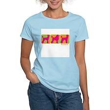 Cute Standard poodle art T-Shirt