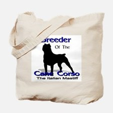 Cane Corso Breeder Tote Bag
