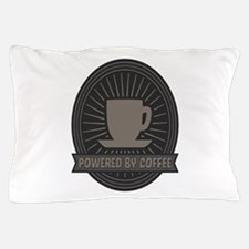 Powered by Coffee Pillow Case