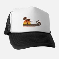 Huntington Beach California Trucker Hat