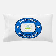 Managua Nicaragua Pillow Case