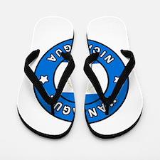 Managua Nicaragua Flip Flops