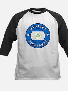 Managua Nicaragua Baseball Jersey
