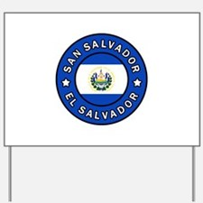 San Salvador Yard Sign