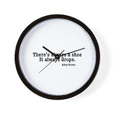 NCIS Shoe Drops Wall Clock