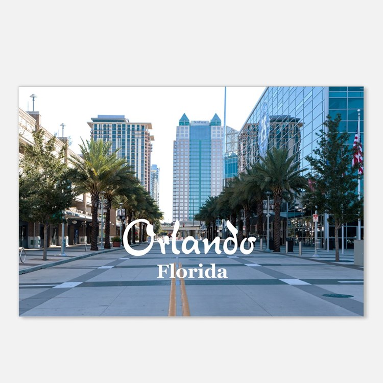 Orlando Postcards (Package of 8)