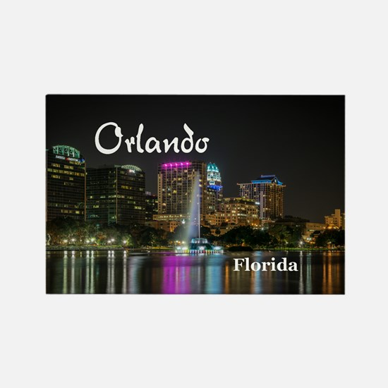 Orlando Rectangle Magnet