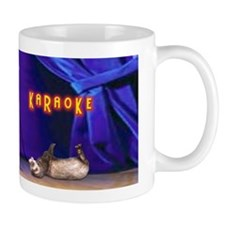 Friends Dont Let Friends Karaoke Ferret Coffee Mug