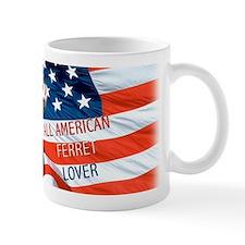 All American Ferret Small Mug