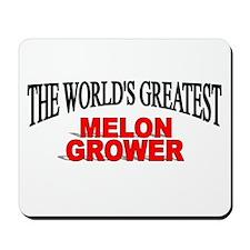"""The World's Greatest Melon Grower"" Mousepad"