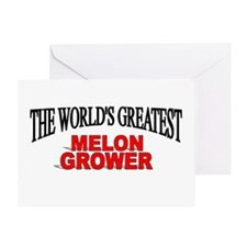 """""""The World's Greatest Melon Grower"""" Greeting Card"""