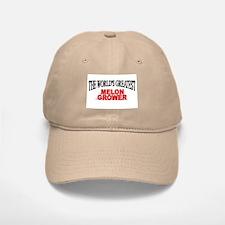 """The World's Greatest Melon Grower"" Baseball Baseball Cap"
