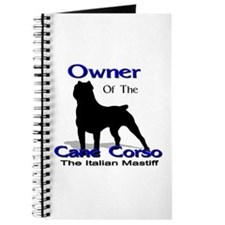 Cane Corso Owner Journal