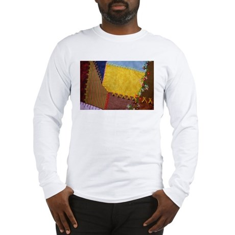 Crazy Quilt Long Sleeve T-Shirt