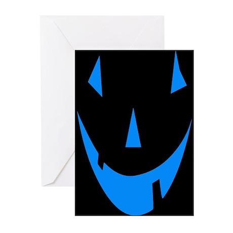 Jack-O-Lantern Face Greeting Cards (Pk of 20)