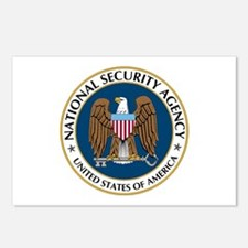 NSA - NATIONAL SECURITY A Postcards (Package of 8)