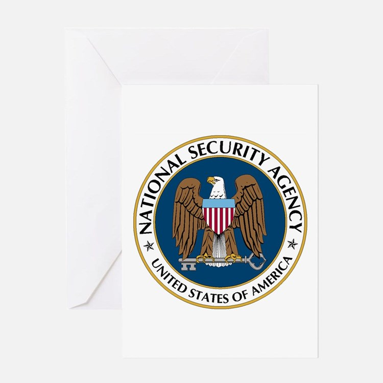 NSA - NATIONAL SECURITY AGENCY Greeting Cards