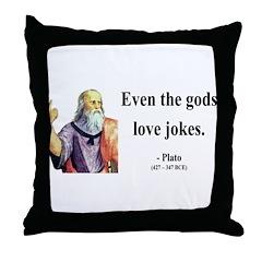 Plato 23 Throw Pillow